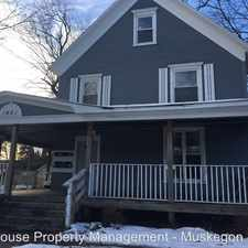 Rental info for 1621 Terrace St - 4 in the Muskegon area