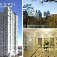 Rental info for 199 14th St #2205 in the Atlanta area