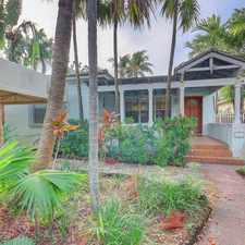Rental info for 3750 Royal Palm Avenue in the Miami Beach area