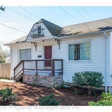 Rental info for 5233 SE Cesar E Chavez Blvd. - Unit A in the Reed area