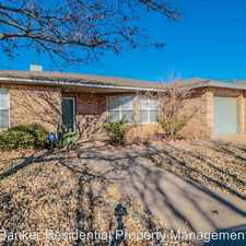 Rental info for 5212 30th in the Lubbock area