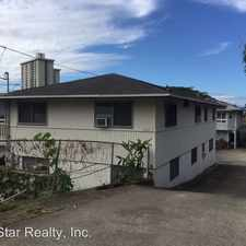 Rental info for 1633A Pali Highway in the Makiki - Lower Punchbowl - Tantalu area