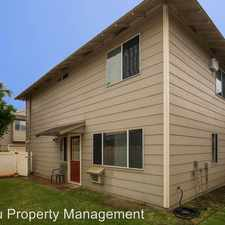 Rental info for 91-1037 E Hoomaka Street Ewa Beach