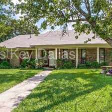 Rental info for 5230 Barcelona Drive in the Garland area