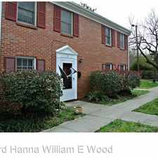 Rental info for 311 North Street in the Norfolk area