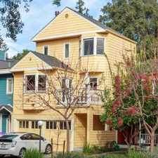 Rental info for $9999 3 bedroom Townhouse in Palo Alto in the South of Midtown area
