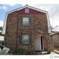 Rental info for Nice neiboorhood and completly brick house. Offstreet parking in the 70053 area