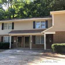 Rental info for Chapel Hill Road in the Cary area
