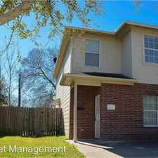 Rental info for 4748 Clover St B in the Houston area