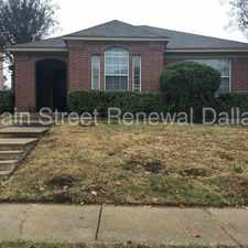 Rental info for Available for Immediate Move In! in the Grand Prairie area