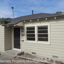 Rental info for 453 North Olive in the 92867 area