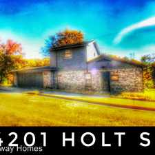 Rental info for 4201 Holt St in the 72209 area