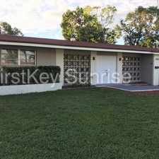 Rental info for 2430 Rivera Dr Miramar FL 33023 in the Hollywood area