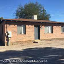 Rental info for 1309 N. COLUMBUS in the Tucson area
