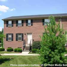 Rental info for Eagle Creek Townhomes