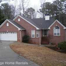 Rental info for 5430 Mountain Trail in the Douglasville area