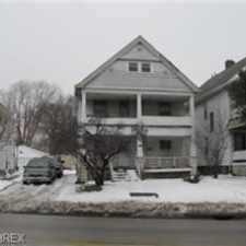 Rental info for 8810 DENISON Ave, Cleveland, OH 44102-4845 in the West Boulevard area