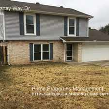 Rental info for 816 Panay Way Dr. in the Fort Worth area