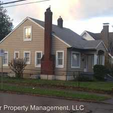 Rental info for 7705 N. Penninsular Ave. in the Portland area