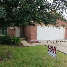 Rental info for 1017 Forest Oak Dr in the Corpus Christi area