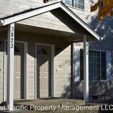 Rental info for 3823 32nd Place NE
