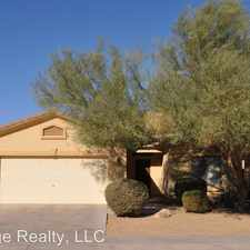Rental info for 12124 W Ocotillo Ln