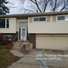 Rental info for 15217 Waterman Drive in the South Holland area