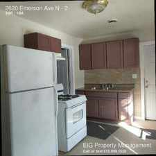 Rental info for 2620 Emerson Ave N in the Minneapolis area