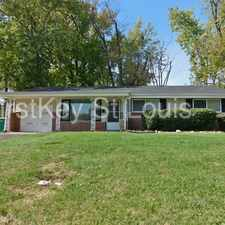 Rental info for 9813 Wendell in the St. Louis area