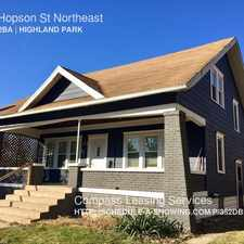 Rental info for 551 Hopson St Northeast in the Grand Rapids area