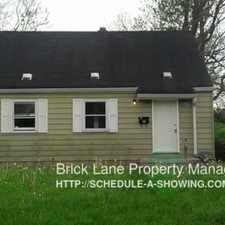 Rental info for 1613 E 44th ST in the Indianapolis area