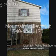 Rental info for 1418 Mt. Clinton Pike