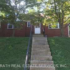 Rental info for 5828 LITTLE FALLS RD in the Arlington area