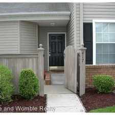 Rental info for 417 Adkins Arch in the Virginia Beach area