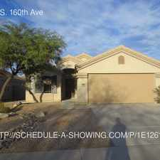 Rental info for 2962 S. 160th Ave