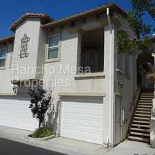Rental info for Pristine Sabre Springs Beauty in the San Diego area