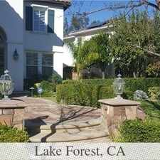 Rental info for Lake Forest - Superb House Nearby Fine Dining. ... in the Lake Forest area