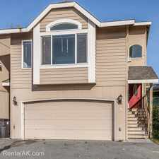 Rental info for 3917 San Roberto Ave #C in the Anchorage area