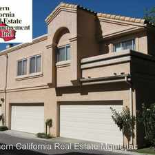 Rental info for 25256 STEINBECK AVE #D