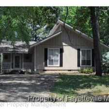 Rental info for 5761 Waterwood Court in the Fayetteville area