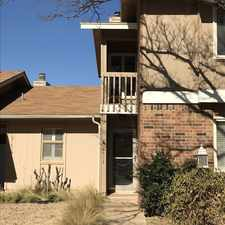 Rental info for 5712 38th Street in the Lubbock area