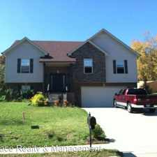 Rental info for 1834 Patricia Dr. in the Clarksville area