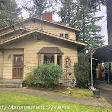 Rental info for 10043 NE Campaign Street in the Parkrose area
