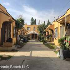 Rental info for 945 1/2 S. Bonnie Beach Pl. in the Los Angeles area