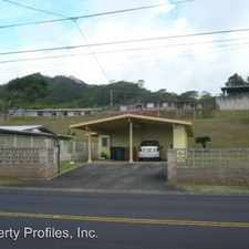 Rental info for 45-344 MOKULELE DRIVE in the Kaneohe area