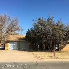 Rental info for 3326 86th Street in the Lubbock area