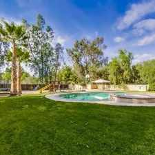 Rental info for Spacious Home In North With A Pool in the San Diego area