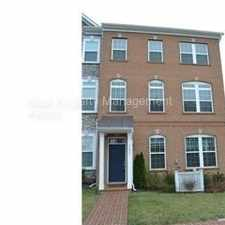 Rental info for Luxury Brick End Unit Townhouse In The Heart of Fairfax City.