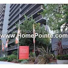 Rental info for Must See this Beautifully Remodeled Luxury 2 bedroom Luxury Apartment Home! Great Downtown Views from your Balcony. Washer/Dryer and Refrigerator included. Pool, Fitness Center, Covered Parking and more!
