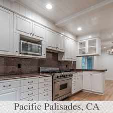Rental info for Guesthouse In Move In Condition In Pacific Pali... in the Los Angeles area